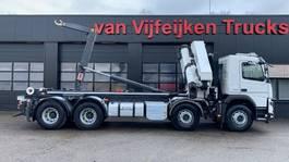 container truck Volvo FMX 500 8X4 - HMF 5020K4 KRAN/CRANE/GRUA AJK 20 TONS CONTAINER 2019
