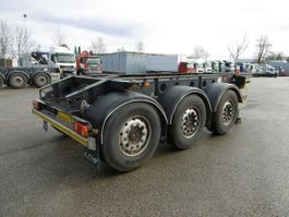 chassis semi trailer Fliegl 3 Achs Container Chassis 20Fuss  Alufelgen 2014
