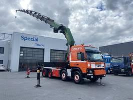 crane truck Volvo FM 420 8X4 + PALFINGER  PK90002 H 2002