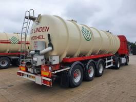tank semi trailer semi trailer Van Hool van hool 32m3 RVS 3.16 tankoplegger / mestoplegger 2001