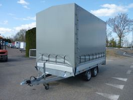 closed box car trailer Hapert huifwagen nieuw demo blanco kenteken
