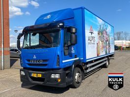 closed box truck Iveco ML 120 E 220 EEV / EUROCARGO 2012