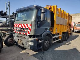 garbage truck Iveco 310 Stralis 6x2/4 VDK Wastecollector / Müllwagen / Benne Ordures 2008