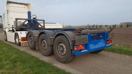 container chassis semi trailer LAG 0-3-39 KC KIP CONTAINERCHASSIS FT KIPPER CHASSIS 2009