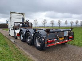 container chassis semi trailer LAG O-3-CC A9  2O FT KIPCONTAINERCHASSIS / 20FT KIPPER 2015