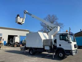 mounted boom lift truck MAN 12-180 TGL + ESDA TG1900 LIFT 19M 1000V ISOLATED 2011