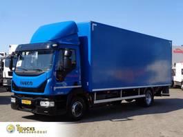 closed box truck Iveco EuroCargo 120 -210 + Euro 6 + Anteo Lift 2018