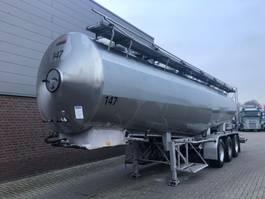 tank semi trailer semi trailer Magyar 29.3 M3 3KAMER LEVENSMIDDELEN TANKOPLEGGER MET POMP 1990