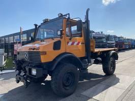 tipper truck > 7.5 t Unimog U 1450 4X4 + TIPPER 1996