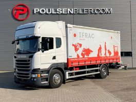 closed box truck Scania R410 DRIVING SCHOOL