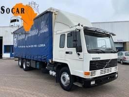 closed box truck Volvo FL7 285 6x2  Manual-gear euro 2 Steel/Steel 1999