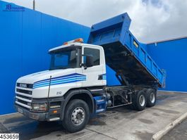 tipper truck > 7.5 t Scania 114 340 6x4, manual, steel suspension 2001