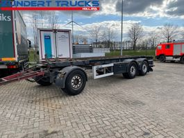 container chassis semi trailer GS Meppel 2004