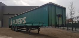 tilt semi trailer LAG 2 x bache trailer disk 3 axel bpw 2003