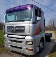 cab over engine MAN TGA 18.360 4X2 tractor unit - injector 2001