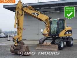 wheeled excavator Caterpillar M313 C NICE AND CLEAN DUTCH MACHINE - CE/EPA 2003