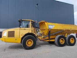 articulated dump truck Volvo A25D - D10 engine 2002