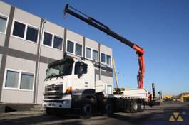 Kranwagen Hino 700FY crane 2008