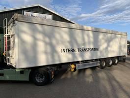 walking floor semi trailer Kraker CF 200 92m3 Cargo Floor BPW 2011