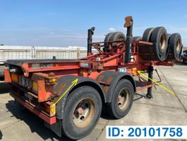 container chassis semi trailer Renders Skelet 20 ft 1991