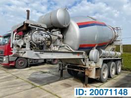 concrete mixer semi trailer MOL Baryval 12 M³ 1998