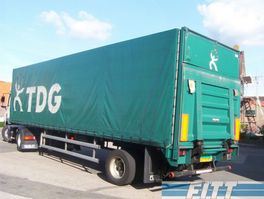 tilt semi trailer Floor 1 as gestuurde huifoplegger met klep 1997