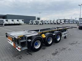 chassis semi trailer Van Hool ADR 1X 20 Ft / 1x 30 Ft 2008