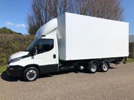 light duty tractor unit - lcv Iveco Daily 35 C18 Automaat ,CLIXTAR , BE trekker + oplegger + laadklep , 2018