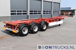 container chassis semi trailer Krone SD | 2x20-30-40-45ft HC * AUSZIEHBARES HECK 2012