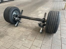 chassis semi trailer BPW 19.5 inch compleet + Goodyear 435-50-19.5 Kmax T 3 NIEUW + div. ond.