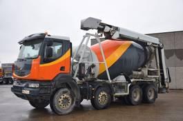 concrete mixer truck Renault KERAX 410 DXI 2009