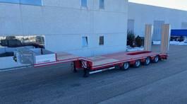 lowloader semi trailer Rojo Trailer Machine Carrier low-loader  GP4 Rojo Trailer. 2021