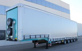 Tieflader Auflieger Rojo Trailer GPD4 Low Bed- Curtain Sider Ramps. 2020