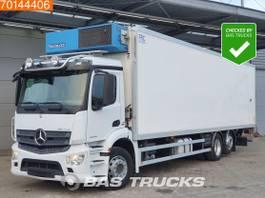 refrigerated truck Mercedes-Benz Antos 2535 6X2 ATP Lift+Steering Axle Laadklep Euro 6 2015