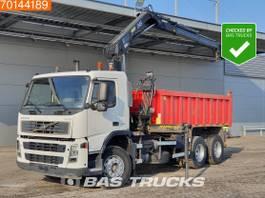 camión de volquete > 7.5 t Volvo FM9 380 6X4 Crane Kran Hiab 144B-2 Duo Manual Steelsuspension 2004