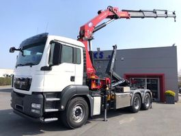 samochód do przewozu kontenerów MAN TGS 26.400BL-6X4-HMF 30T/M KRAAN!!-RADIOSTURING-HAAKARM! 2013