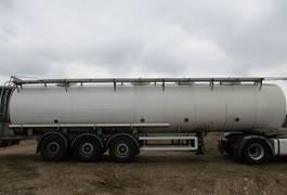 tank semi trailer semi trailer Magyar 28/4 - SAF - INOX 2002