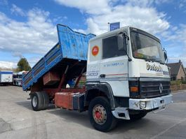 tipper truck > 7.5 t Renault R KIPPER STEEL SPRING 2 CULASSE 1990