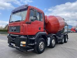 concrete mixer truck MAN TGA 35.410 MANUAL STEEL SPRING 2004