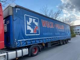 closed box semi trailer Schmitz Cargobull Hubdach / Liftachse  / MEGA / EDSCHA 2010