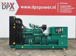 generator Cummins C825D5A - 825 kVA Generator - DPX-18525-O 2017