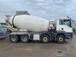 concrete mixer truck MAN 37.360 8x4 10m3 mixer EURO6 2014