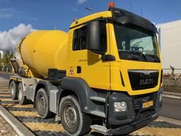 concrete mixer truck MAN 37.360 8x4 EURO6 10m3 mixer EURO6 2016