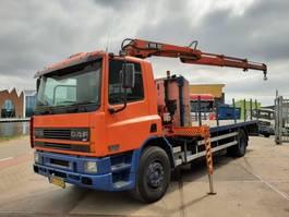 crane truck DAF 75CF.250 + Hiab 102 1999
