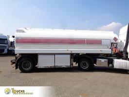 tank semi trailer semi trailer EKW ROC-39T + ADR + 1 AXLE + 5 COMP + 24000 L 2001