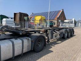 container chassis semi trailer Van Hool 3B2005 3-axle Container Chassis 1x 30ft 1x 20ft APK/TUV 10-2021 1997