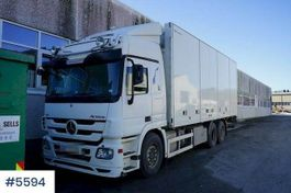 closed box truck Mercedes-Benz Actros 2009