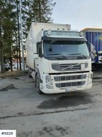 closed box truck Volvo FM w / Full side opening and lift 2011
