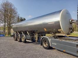 tank semi trailer semi trailer MAISONNEUVE Foodstuff tank in stainless steel insulated