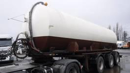 Tankauflieger Lambrecht mestvervoer  30000 liter 1997